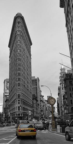 Flatiron building -- žehlička